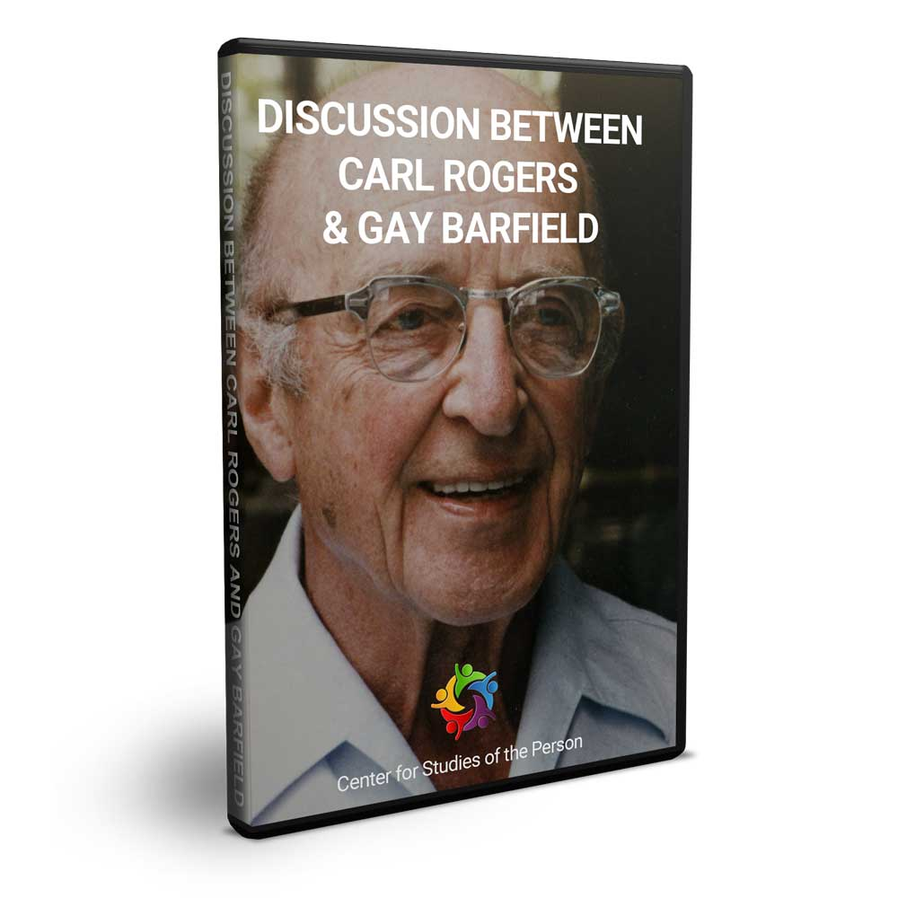 Carl Rogers Gay Barfield DVD | Center for Studies of the Person