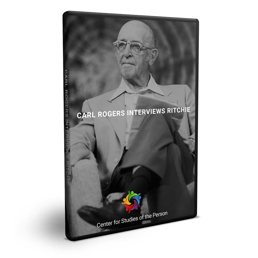 Carl Rogers Interviews Ritchie DVD   Center for Studies of the Person