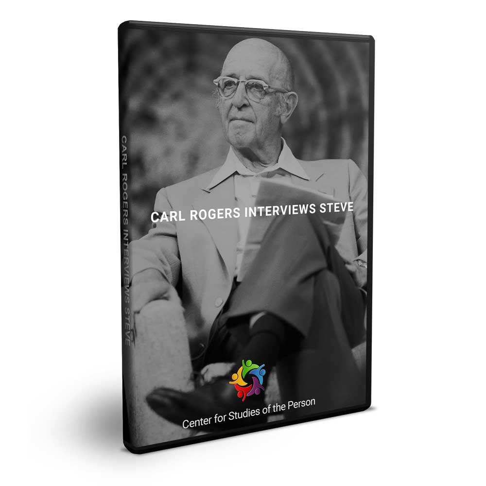 Carl Rogers Interviews Steve DVD | Center for Studies of the Person