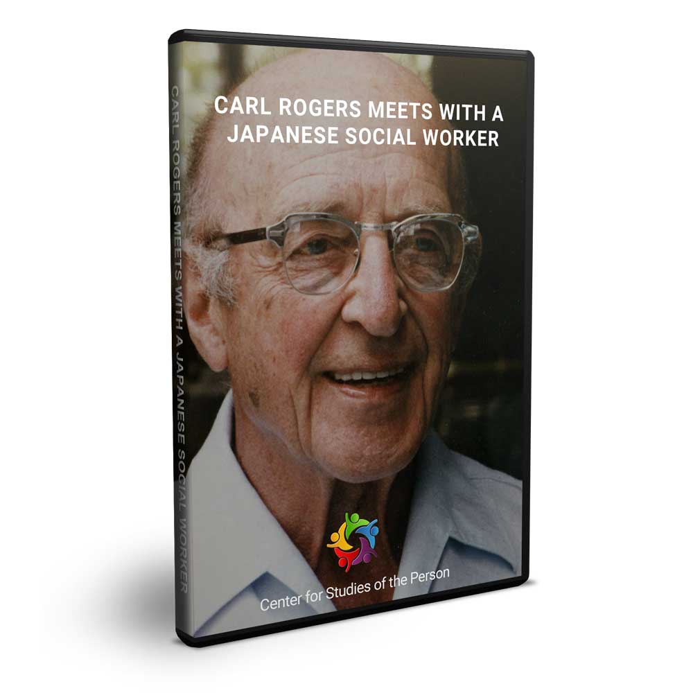 Carl Rogers Meets With A Japanese Social Worker | Center for Studies of the Person