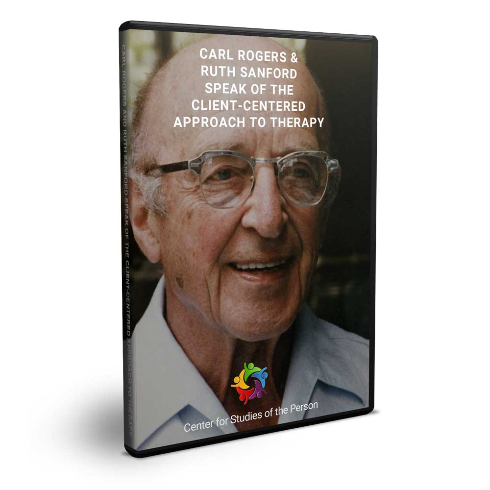 Carl Rogers Ruth Sanford DVD | Center for Studies of the Person